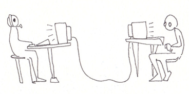 Simplified representation of Online Gaming