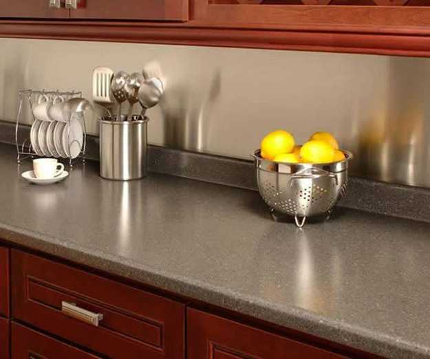 Laminate is one of the most budget-friendly kitchen countertop materials available today and improvements have allowed laminate to closely resemble higher-end materials.
