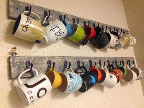 See how to make this mug rack here!