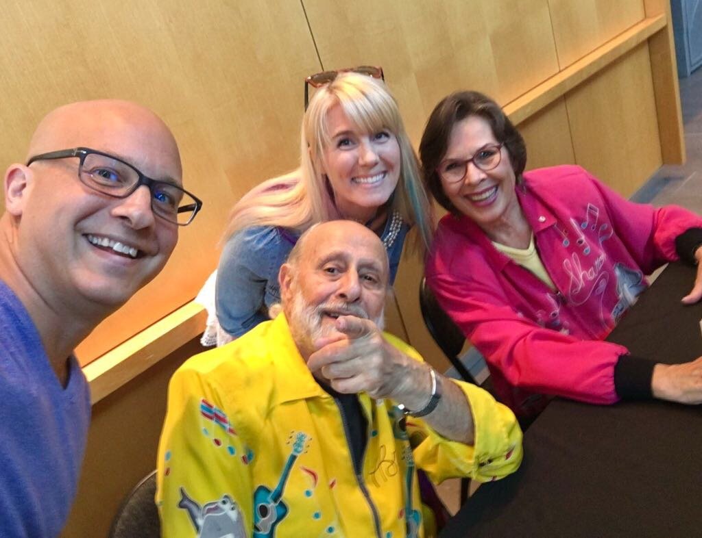 What a wonderful experience to meet the legendary Sharon & Bram.