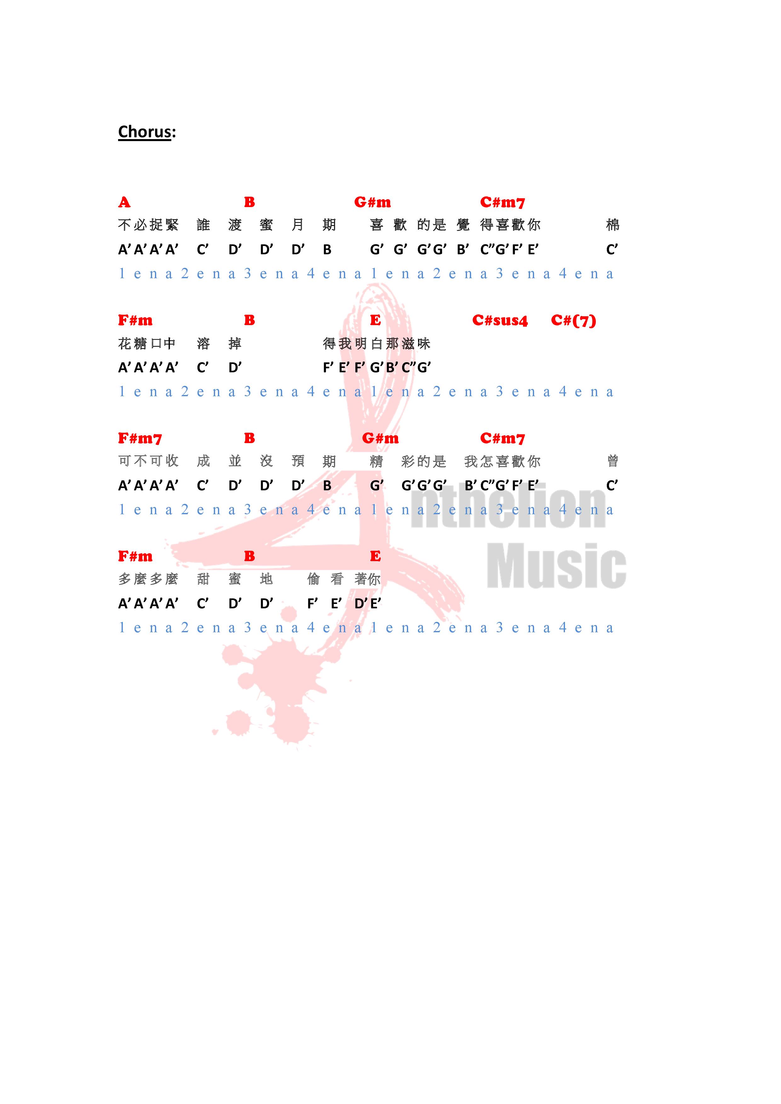Anthelion Music 譜 template (喜歡喜歡你) E key-1.png
