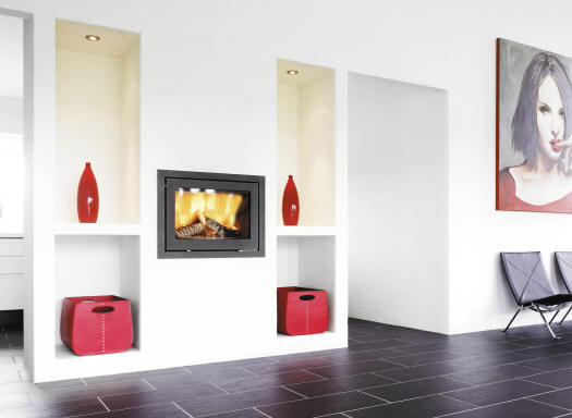 Wittus  Easily installed into an existing masonry fireplace, it will transform an inefficient open hearth into a productive, radiant heat source. The result is higher efficiency and control and reduced fuel consumption.