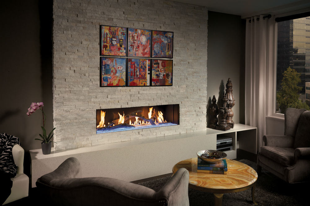 Davinci  A fusion of fire and iconic, contemporary design – The epitome of the perfect decorative, non-heating custom gas fireplace in all areas of design, innovation and functionality. The breathtaking beauty and style of a DaVinci Custom Fireplace will create a dramatic focal point in any room.
