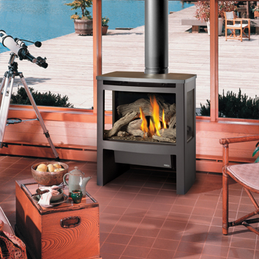 avalon  Offering 2 product options with GreenSmart™ technology and optional wall mounted remote. A large fire-viewing area highlights beautiful and realistic fire with glowing embers, even at the lowest flame setting.