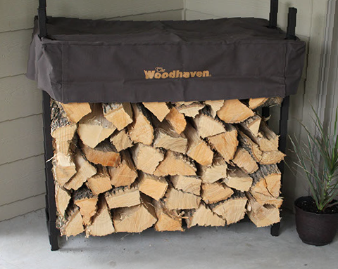 Woodhaven  Top quality firewood racks in a wide variety of sizes and styles to fit any wood storage need. From our top of the line Artisan Collection to our Classic Woodhaven, you'll be sure you're buying quality. A family business since 1927.