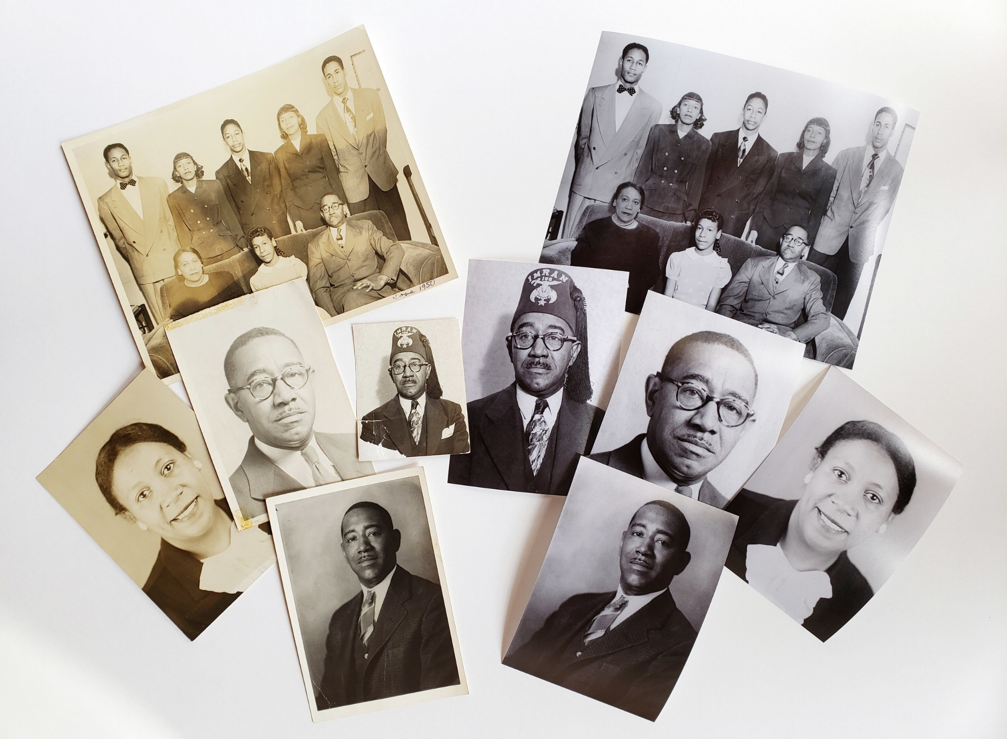 Digitize and reprint your family photos to share with relatives and friends!