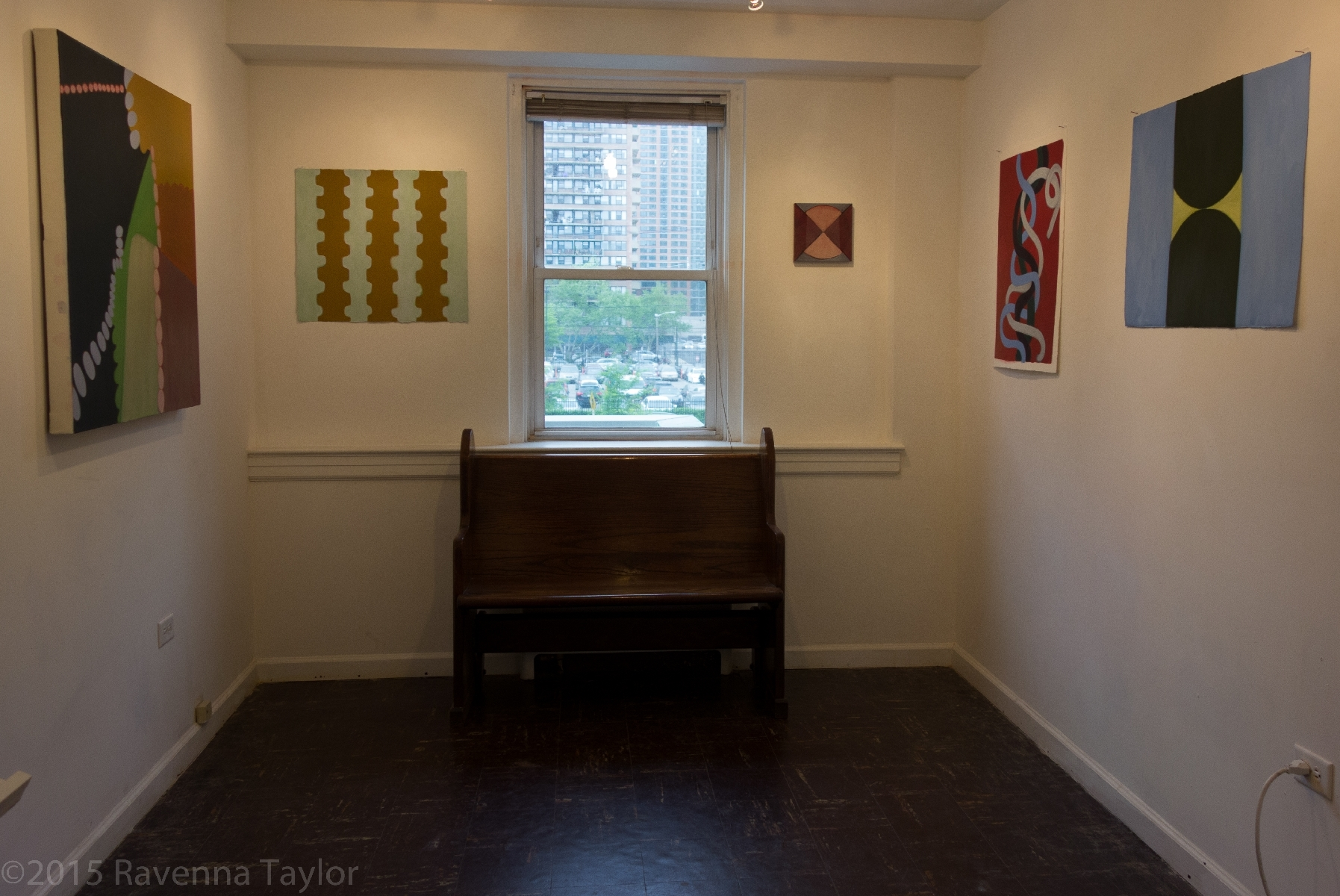 "In ""Little Hand,"" at Drawing Rooms, Jersey City"