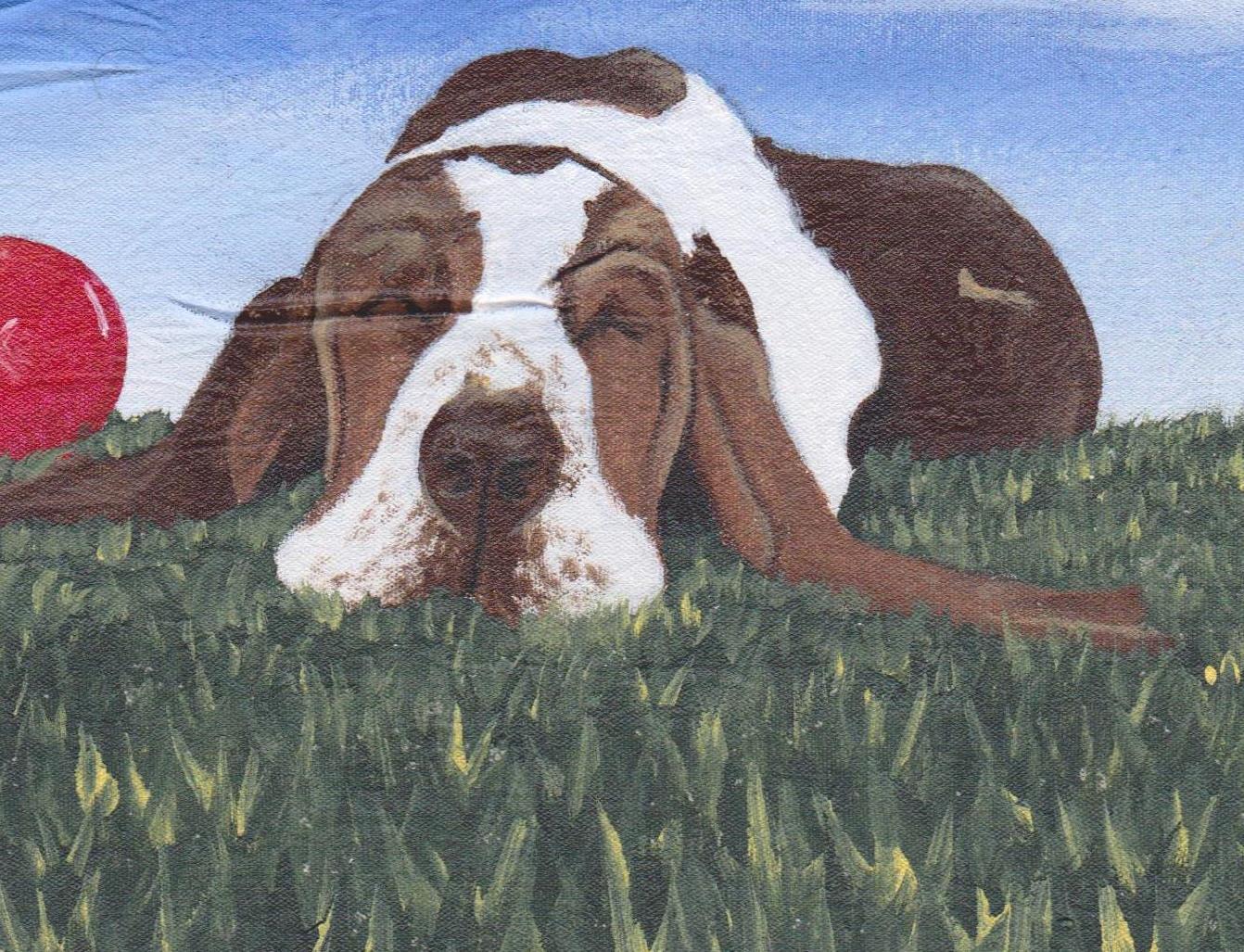 Scott North East Coast Inmate Artist Lazy Dog 001a.jpg