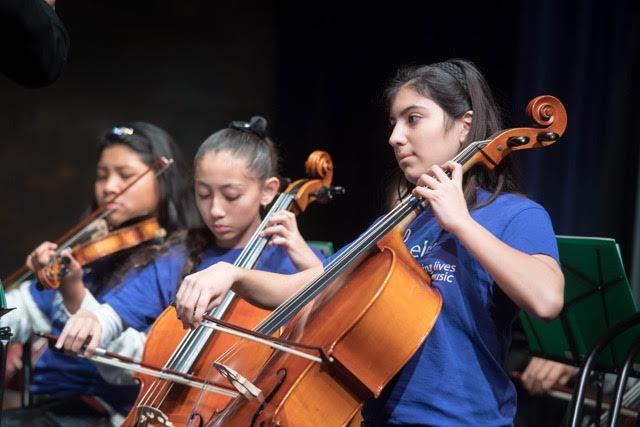 ELM Stringed Instrument students