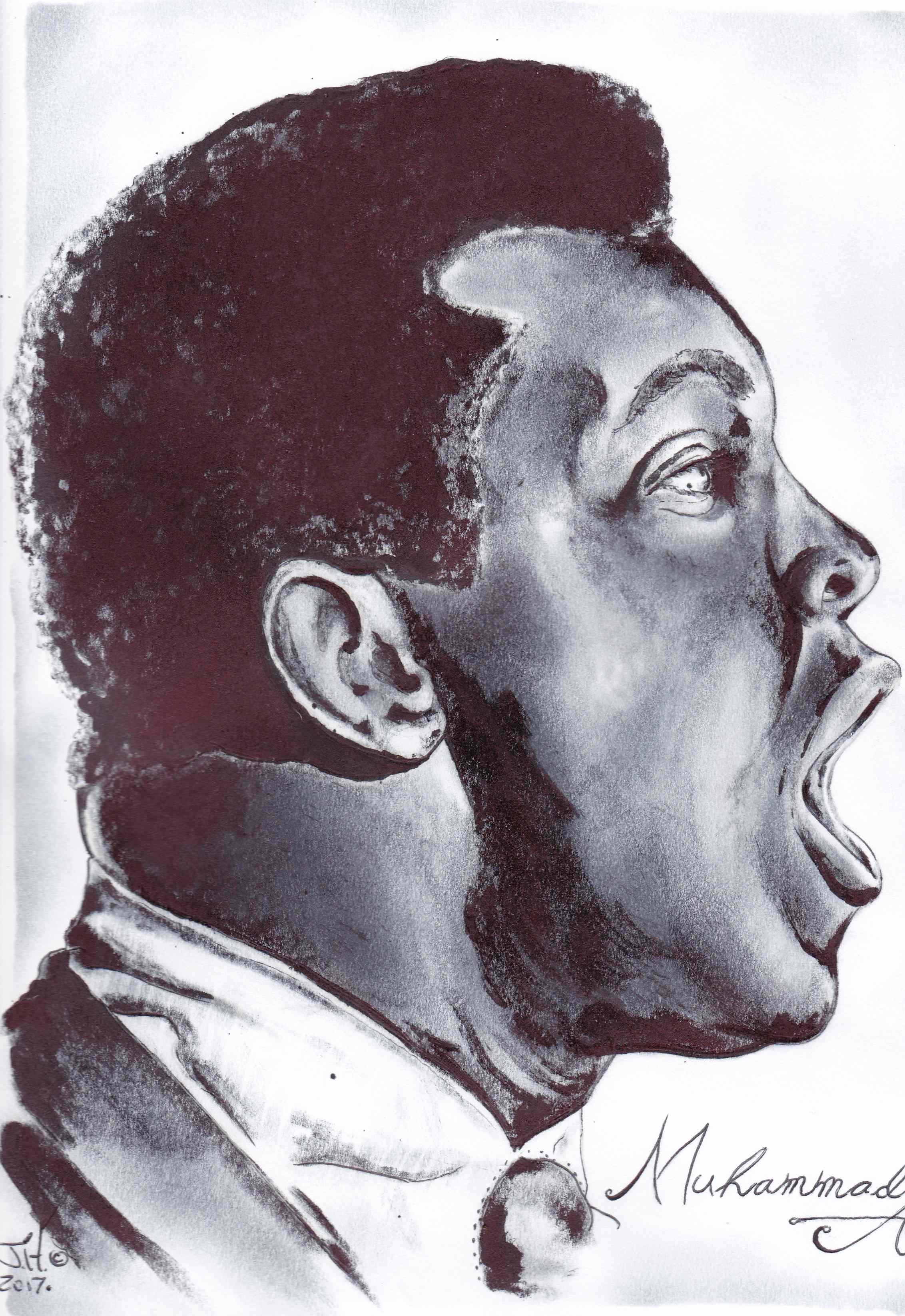 Muhammed Ali by Jeremy J. Hammill pen and ink drawing-IMG_20170616_0001 - Copy.jpg