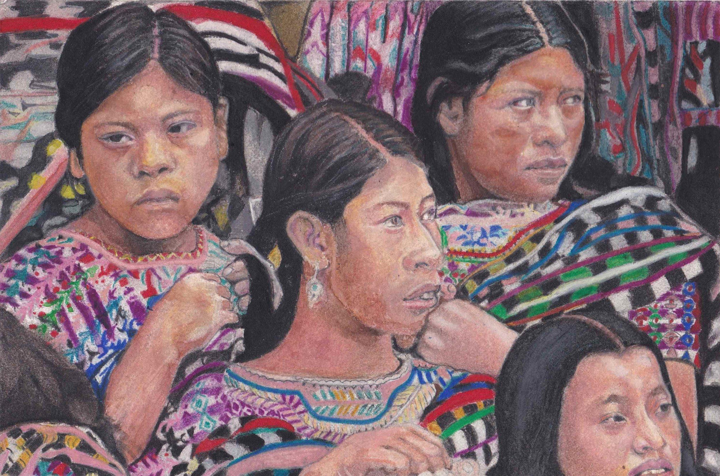 South American Women by Edgar Heflin-Texas.jpg