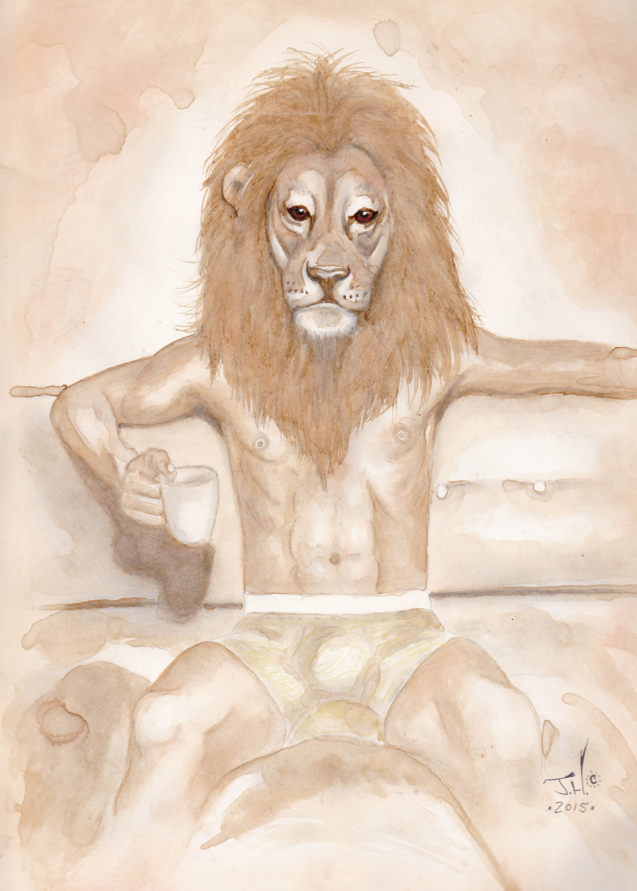 The Power in Comfort coffe and colored pencil by Jeremy J. Hammill -IMG_20171212_0001 - Copy.jpg