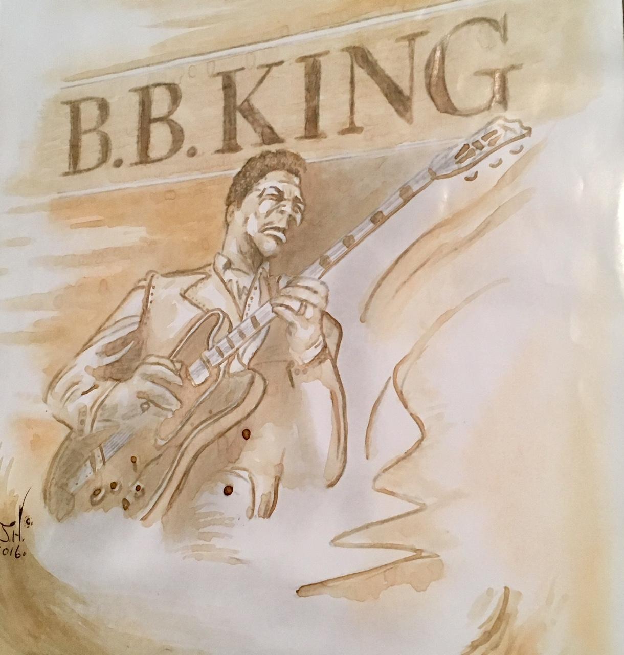 B.B. King Coffee Painting by Jeremy J. Hammill.jpg