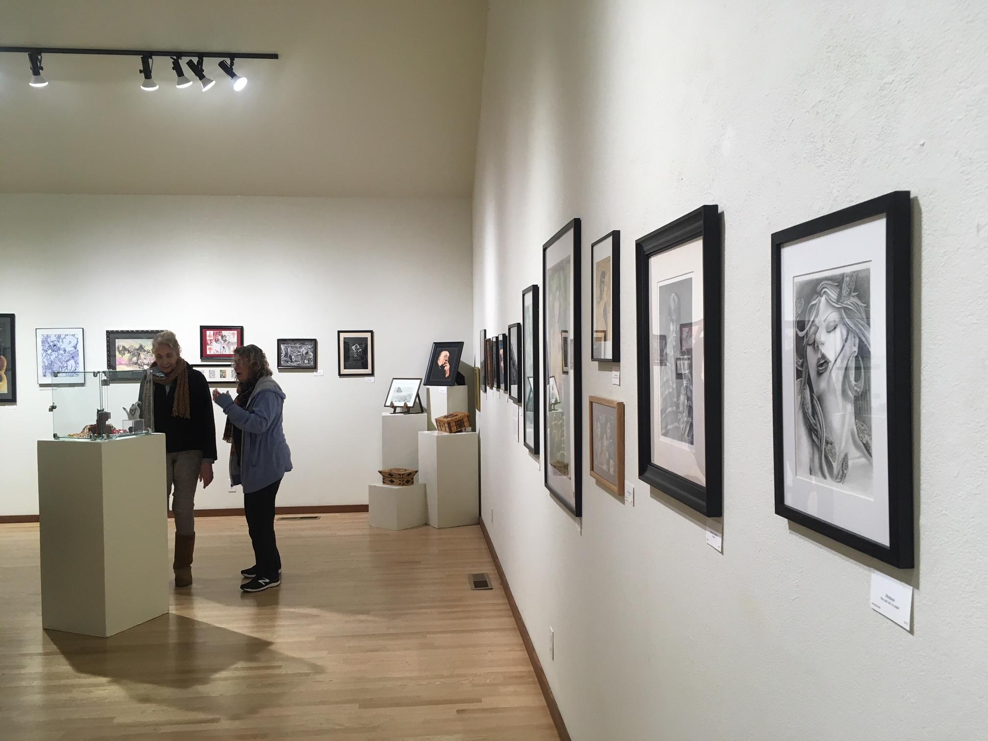 Gualala Art Show Exhibit b g.JPG
