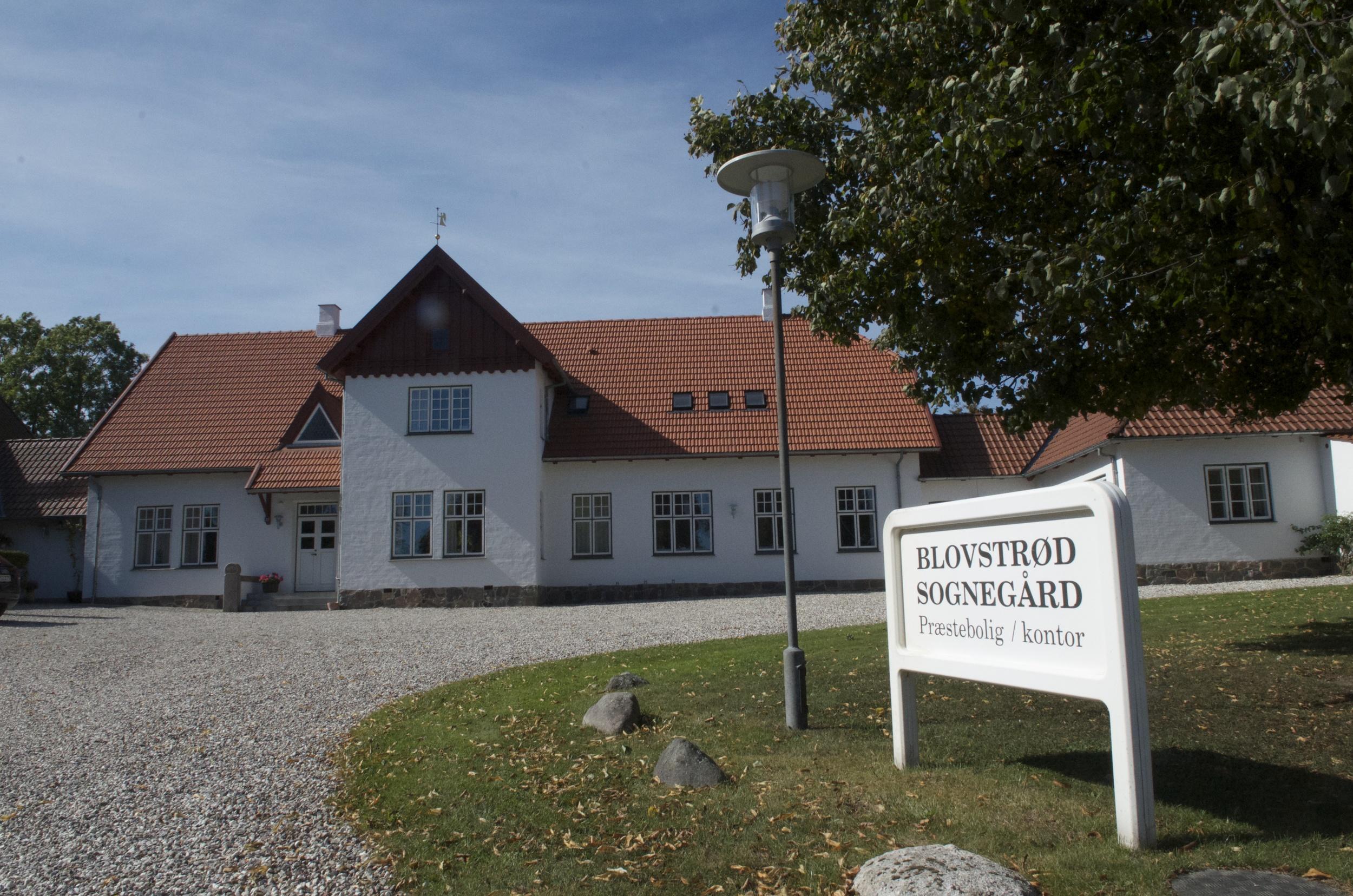 Den lille koncert opføres i Blovstrød Sognegård. Arkivfoto: AOB