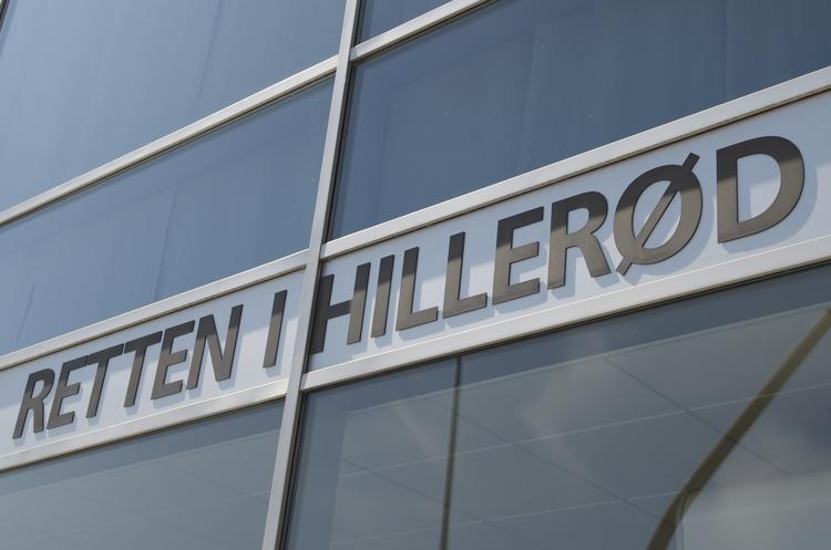 Den 26-årige mand bliver fremstillet i grundlovsforhør i dag kl.13:00 i Retten i Hillerød. Foto: AOB