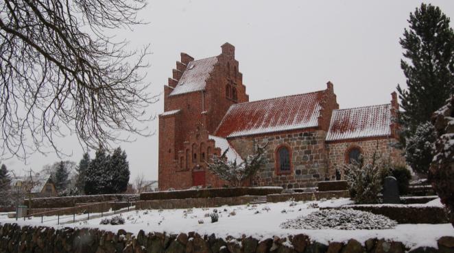 Blovstrød Kirke. Foto: AOB