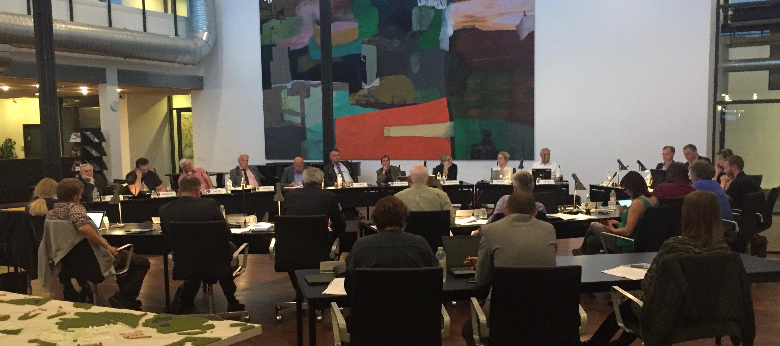 19 ud af 21 byrådsmedlemmer stemte for forslaget. Arkivfoto: AOB