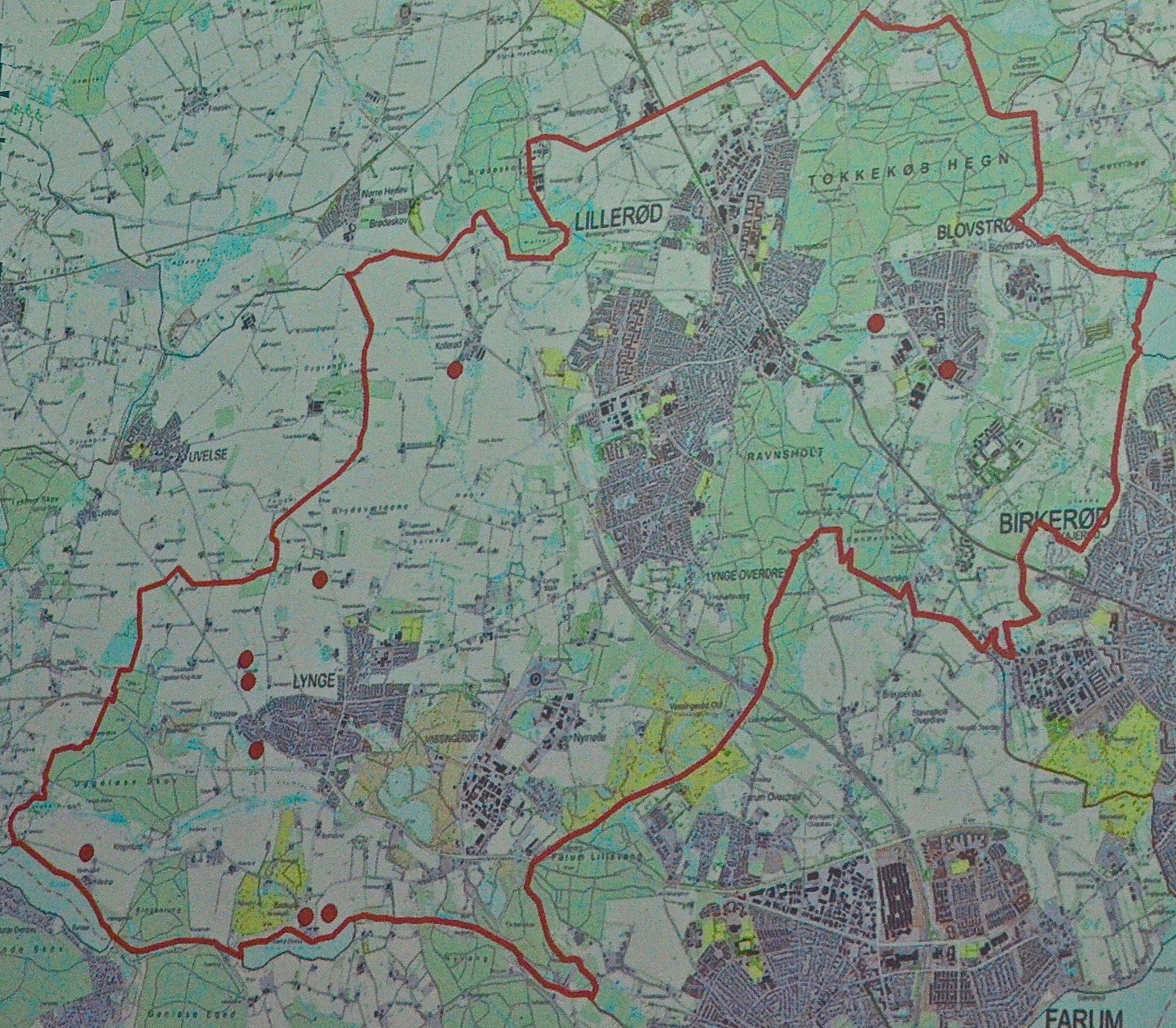 Der er kun 10 steder i kommunen, hvor man har registret detektor-danefæ.