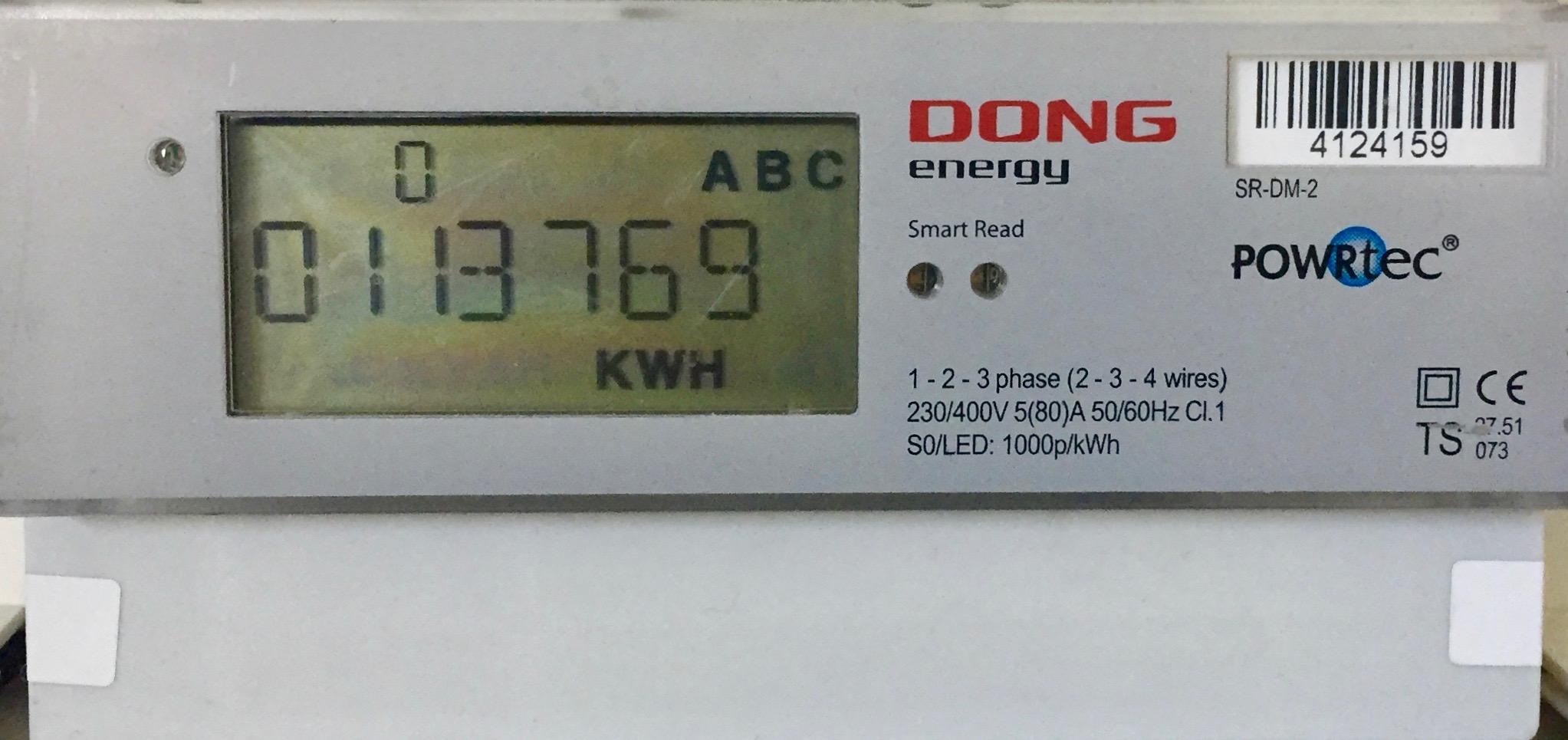 Det er Radius' leverandør Kamstrup, der står for selve udskiftningen af el-målerne. Foto: AOB