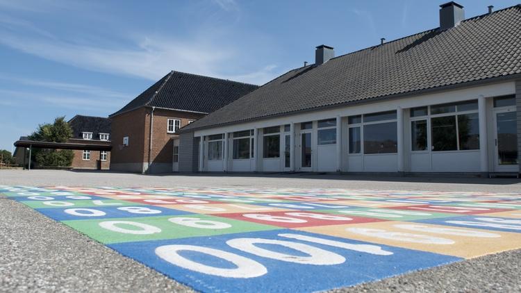 Planerne om Blovstrød Børneby blev i skolebestyrelsen modtaget med stor interesse og glæde, og man så store muligheder for at tiltrække de mange nye tilflyttere, som man skal være klar til at modtage i de kommende år. Arkivfoto: AOB