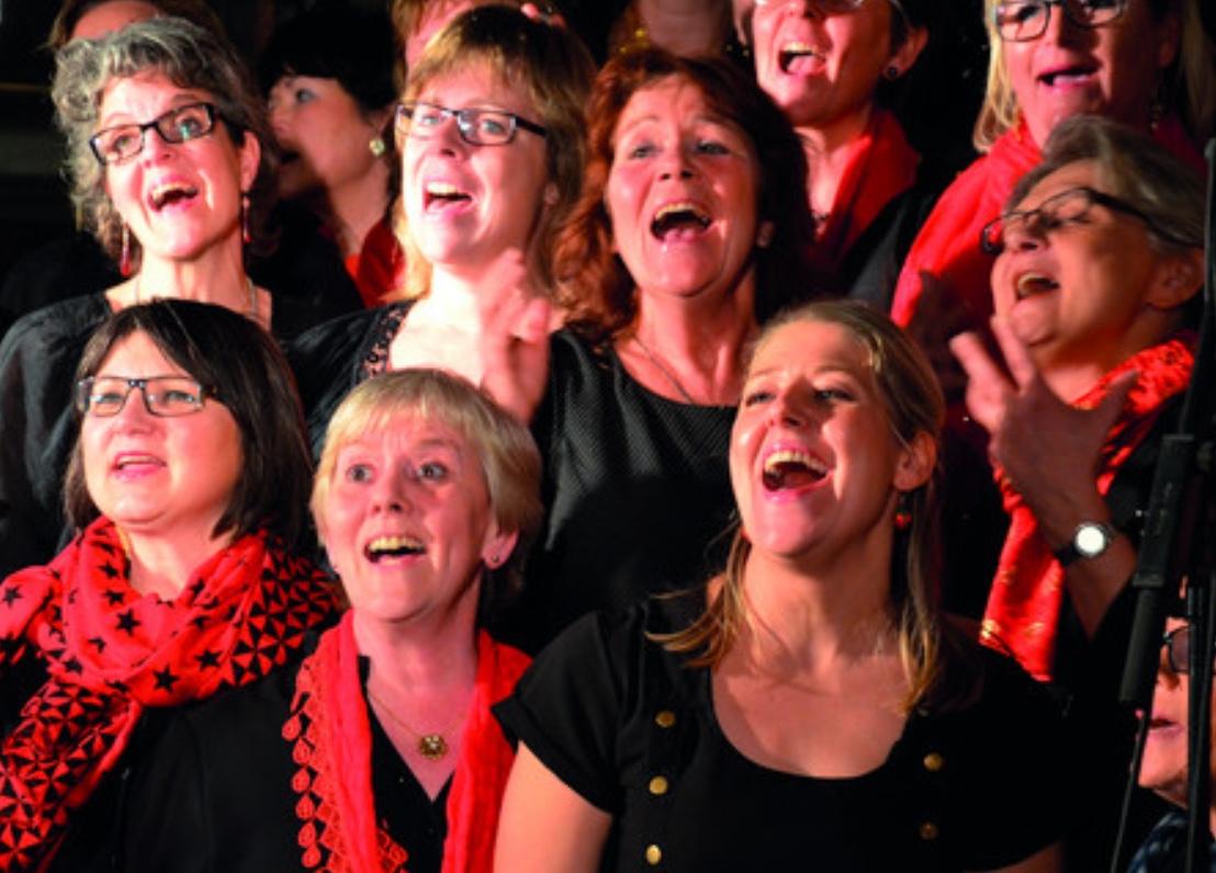 På søndag er der koncert med Farum Gospelkor i Blovstrød Kirke.