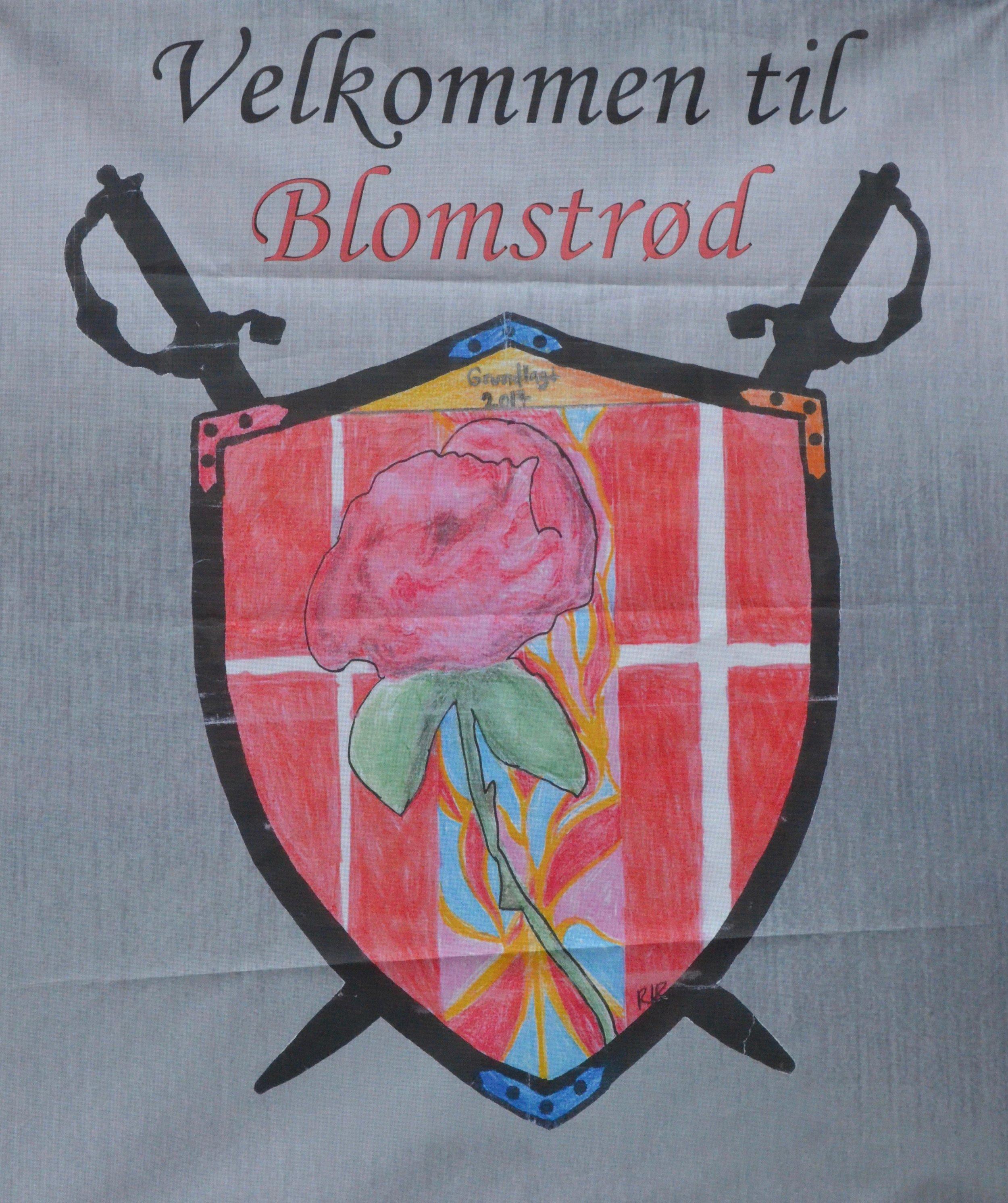 'Blomstrød, fik sin egen borgmester og sit eget byvåben. Foto: AOB