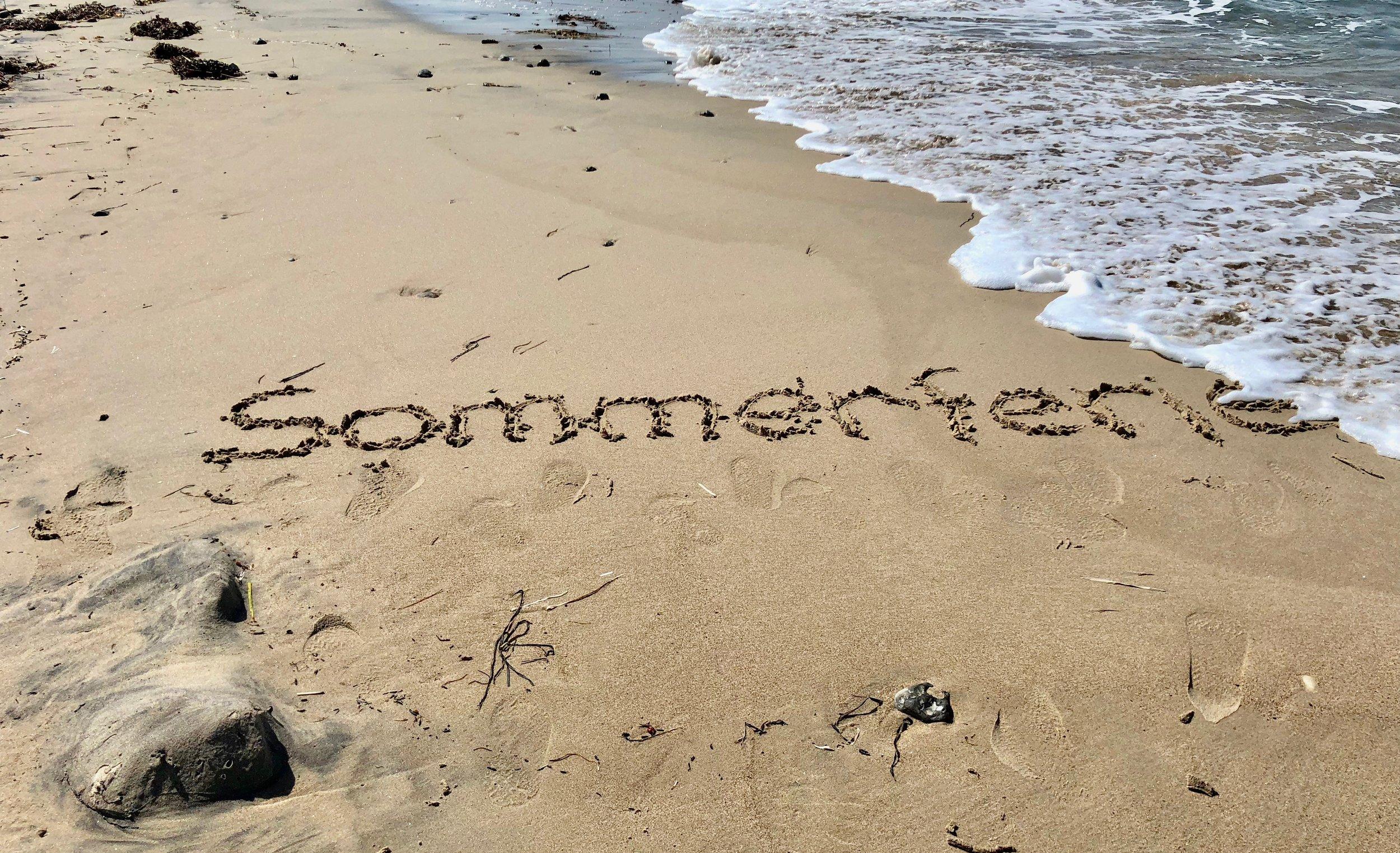 For de fleste har det været en meget varm sommerferie, og mange har søgt til stranden for at blivet kølet lidt af. Foto: AOB