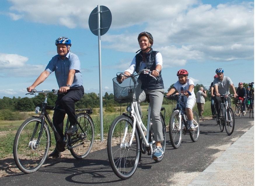 Allerød Kommune tilbyder gode forhold for cykelfolket - det mener 81 % af de adspurgte. Arkivfoto: AOB