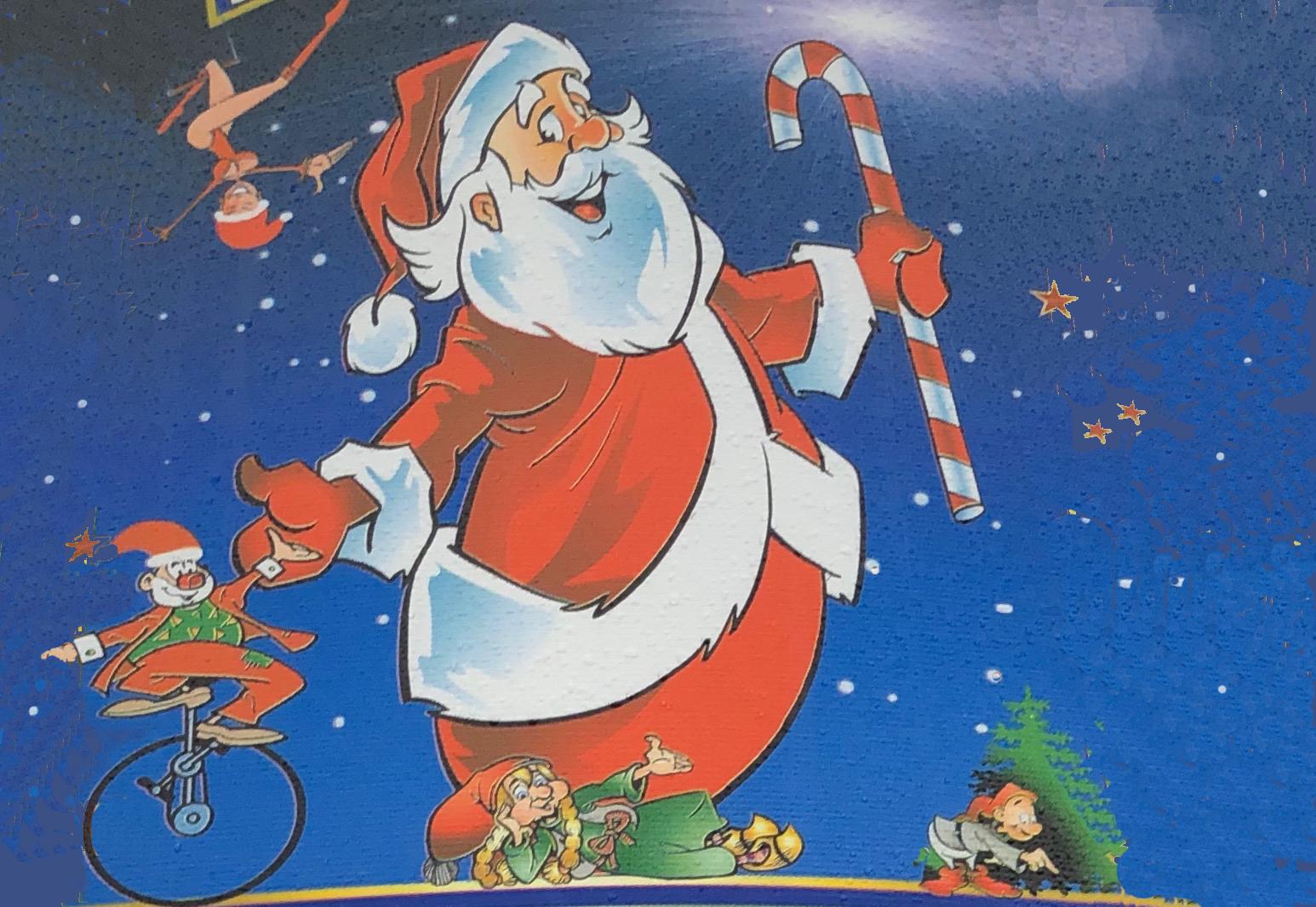 Der er julecirkus i den opvarmede Centerhal i Lillerød. Foto: AOB