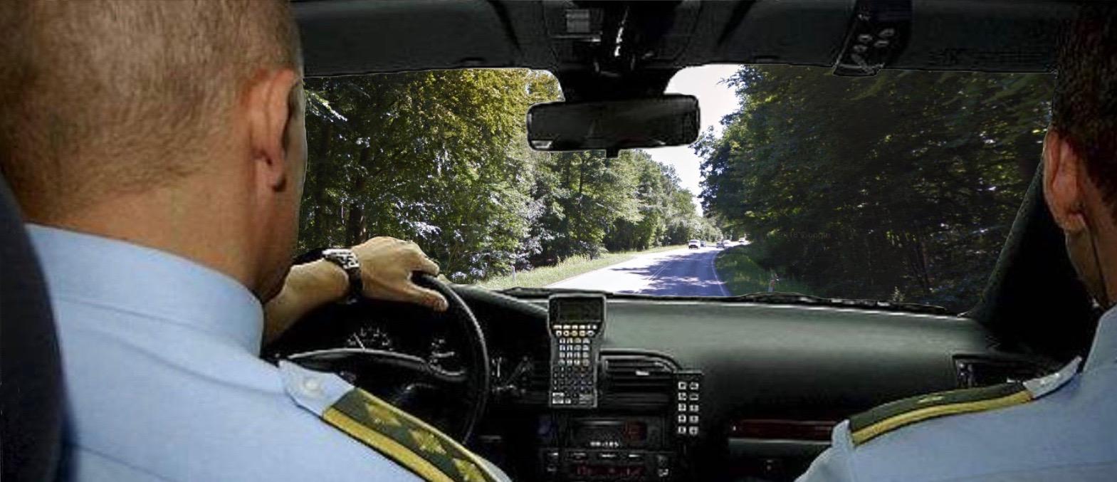 Lørdag aften standsede Nordsjællands Politi en personbil på Nymøllevej. De viste sig, at såvel fører som passager var påvirket af hash. Arkivfoto