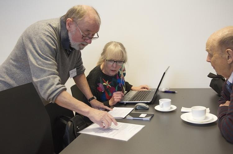 Tidligere var der også IT-undervisning i sognegården i Blovstrød, men dette tilbud gælder dog ikke mere. Arkivfoto: AOB
