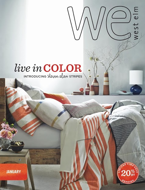 West Elm Catalog  | January 2014