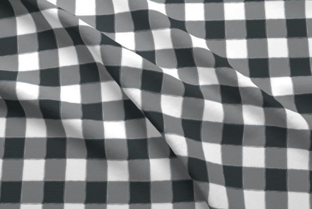 Buffalo Check Fabric by Lindsay Braithwaite
