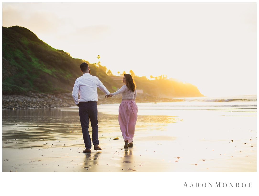 Malaga Cove Engagement Session