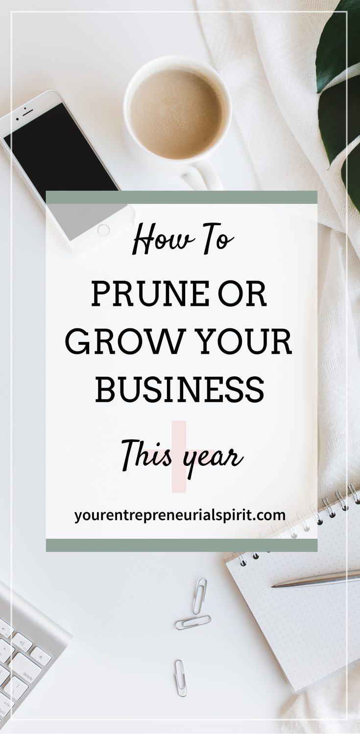 Prune or grow your business this year