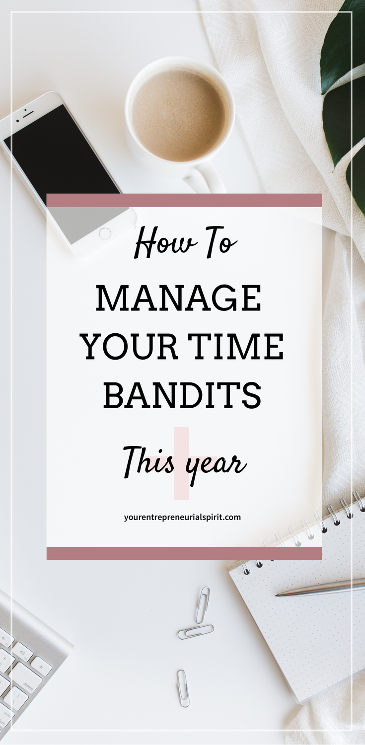 Manage your time bandits
