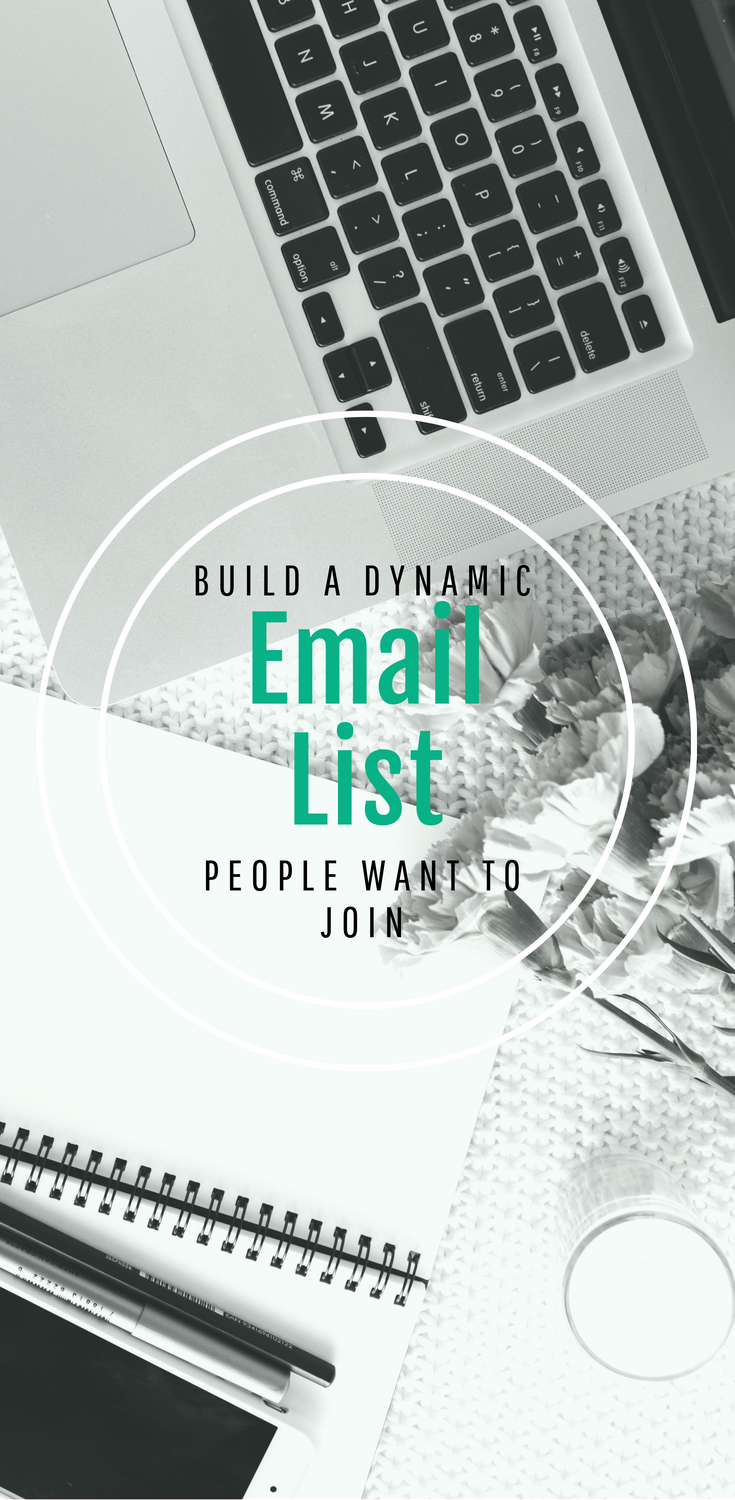 Build an email list people want to join