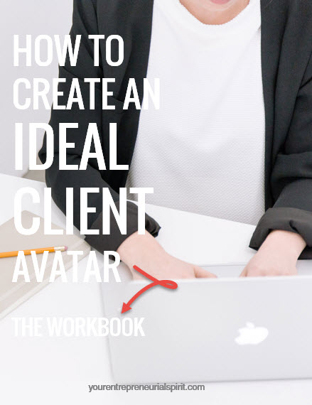 A 10-page workbook designed to help you create an ideal client avatar. Contains question options, focus points, sample avatar brief and short list of resources.