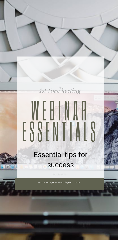 Essential tips for webinar success