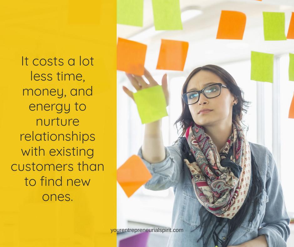 Nurture customer relationships