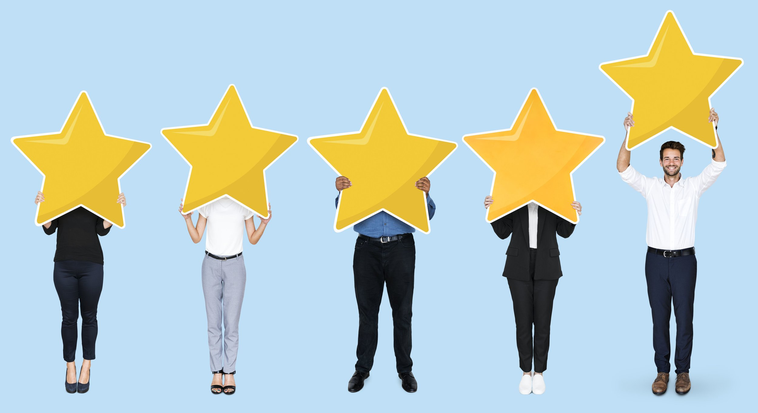 5-star ratings in customer lifecycle marketing