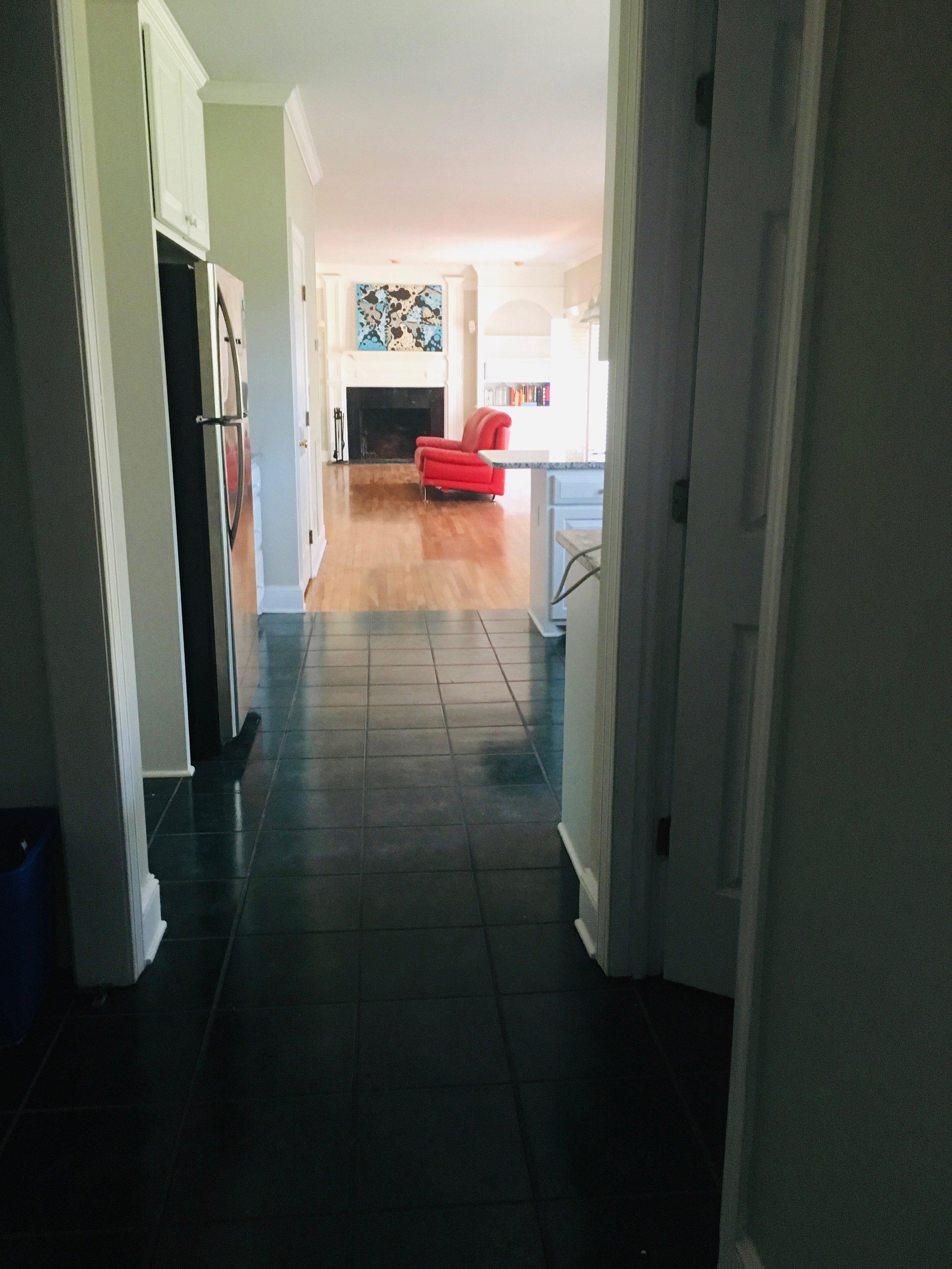 hallway stretch