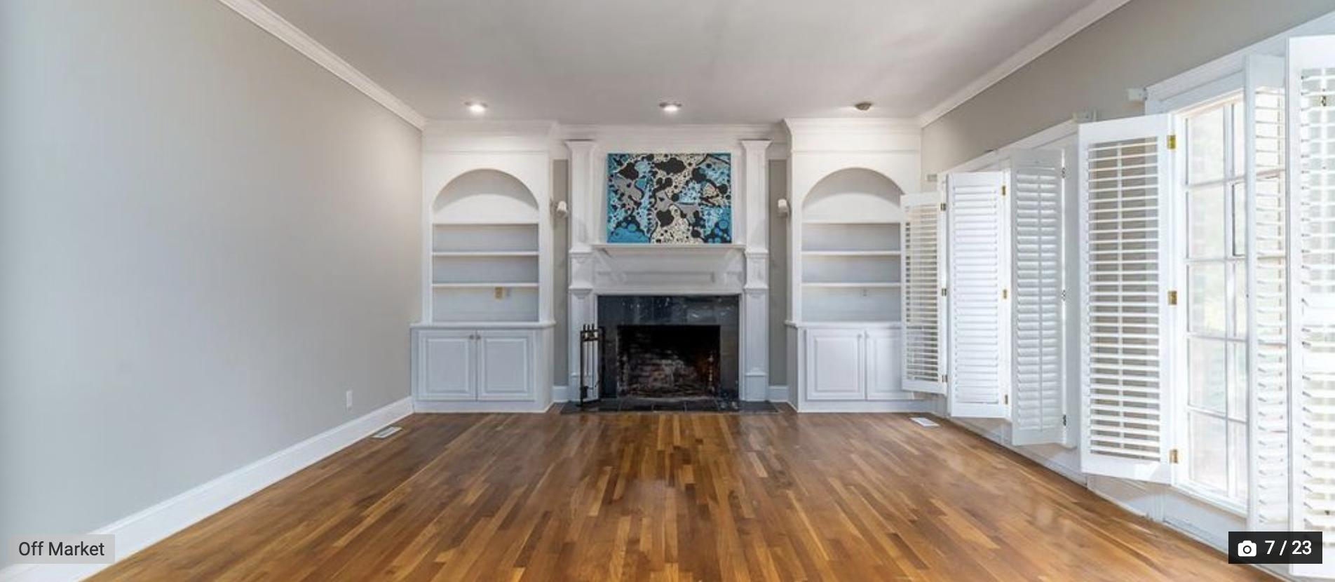 family room symmetric