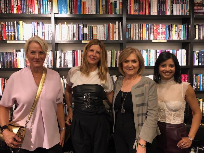 Bal Harbour panelists Amy Herman, Sharron Lannan, Fanny Haim, and Lachmee Chin.
