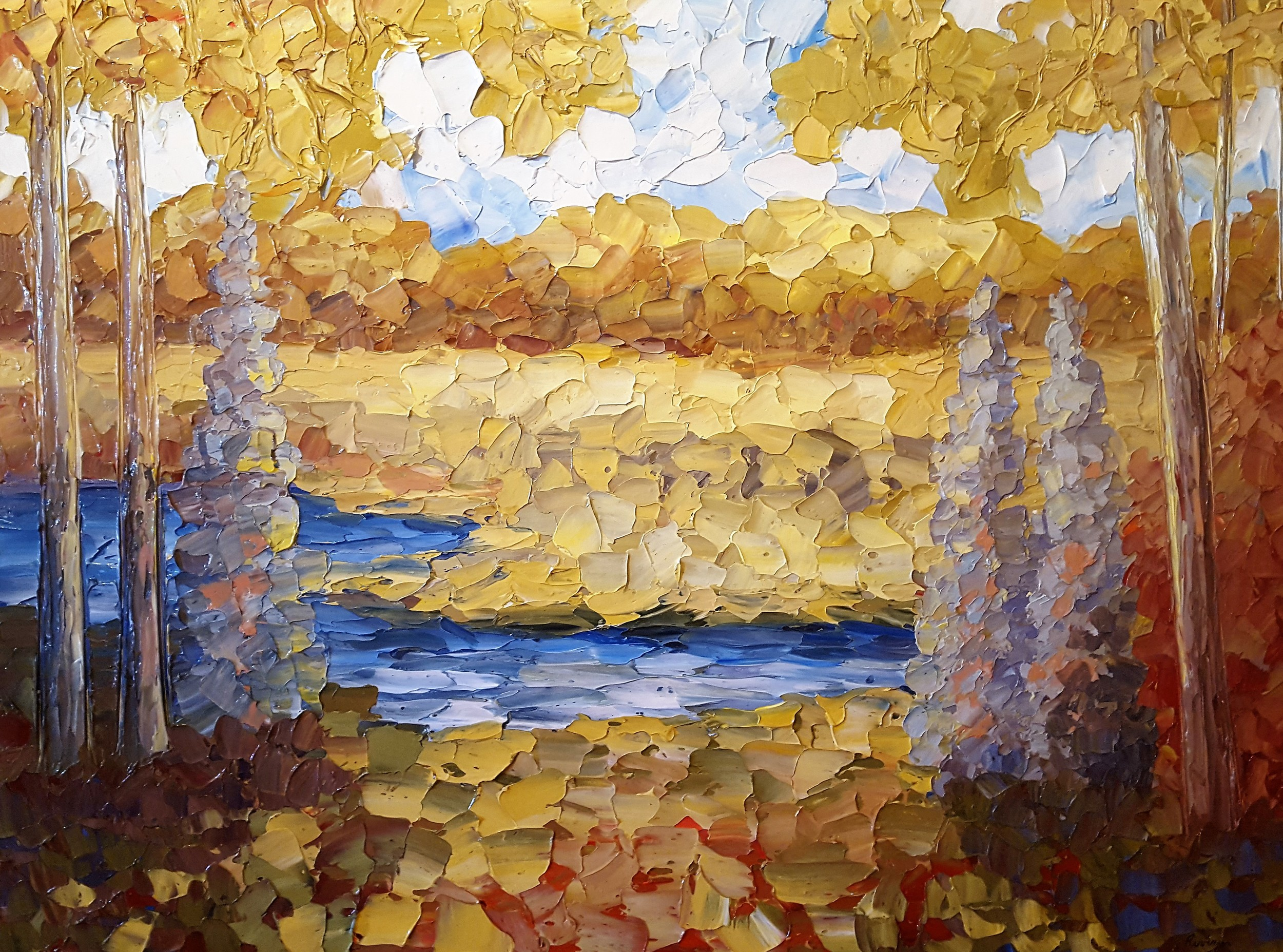 Up north  36X48