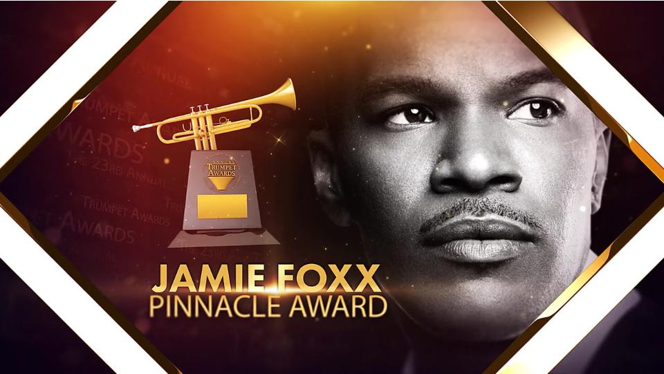 Jamie Foxx Trumpet Awards