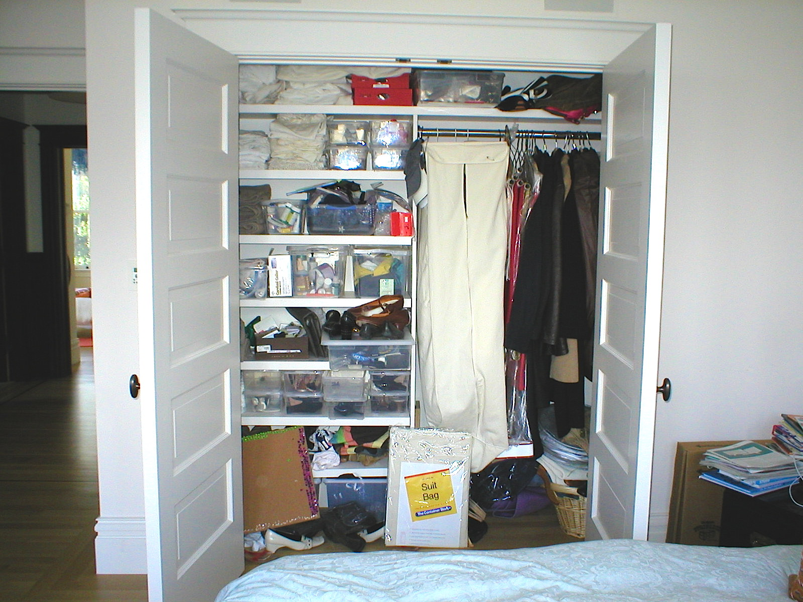 Before : Secondary Bedroom Closet