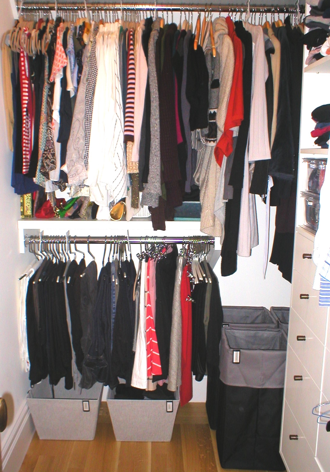 After : Bedroom Closet