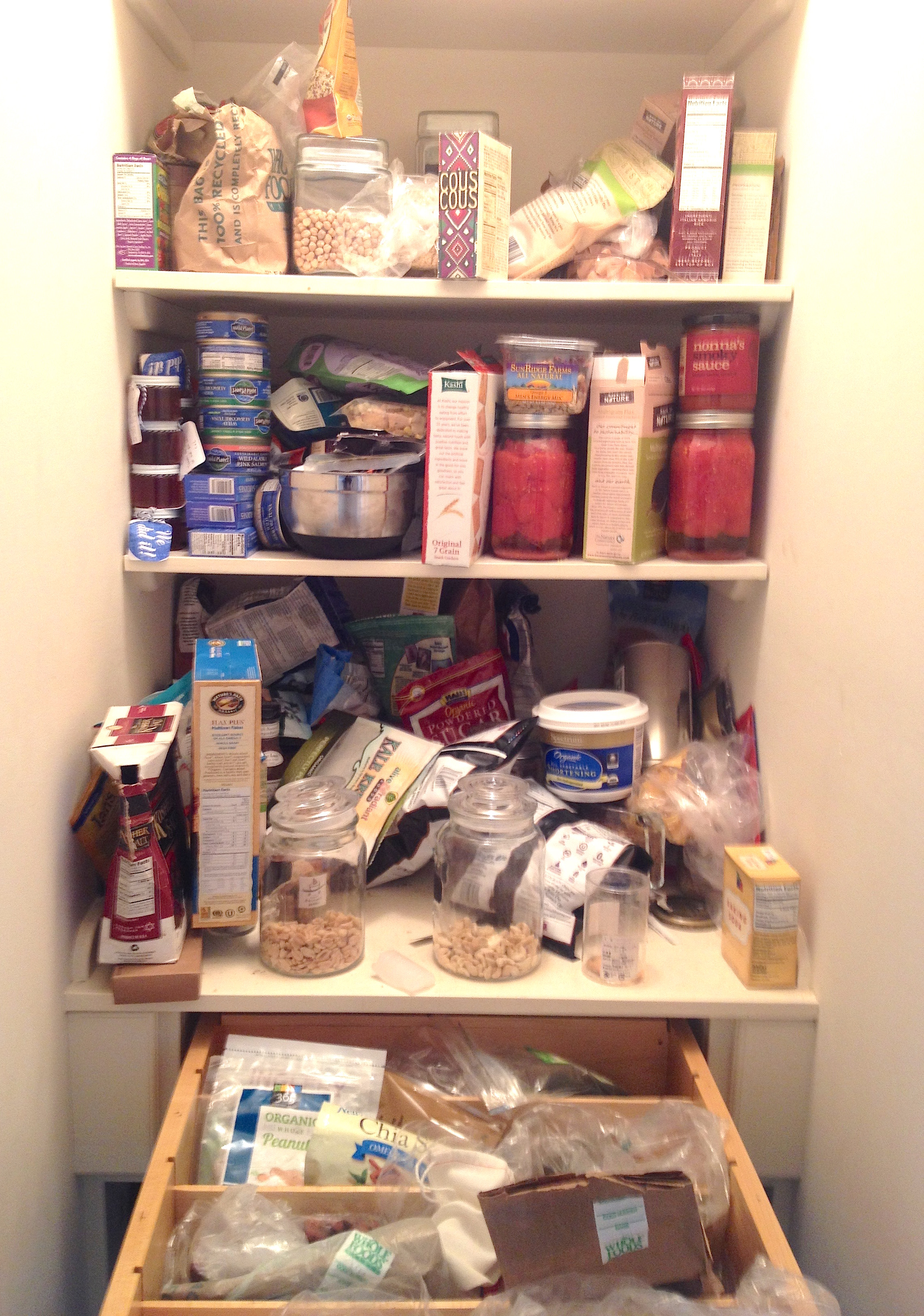 Before : Pantry